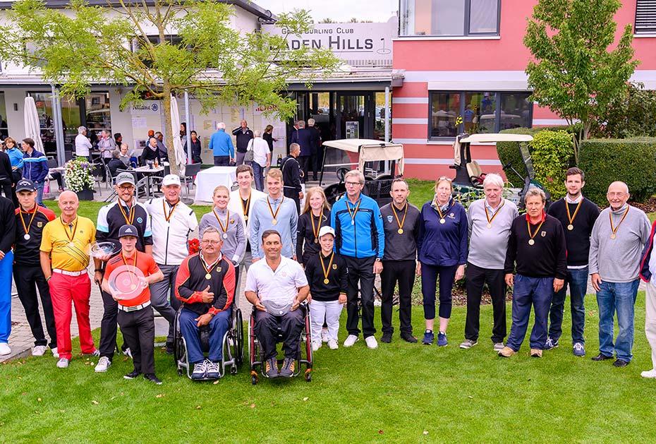 Alle Sieger der Internationalen Amateurmeisterschaft der Golfer mit Behinderungen. (Foto: DGV/Wirtz)