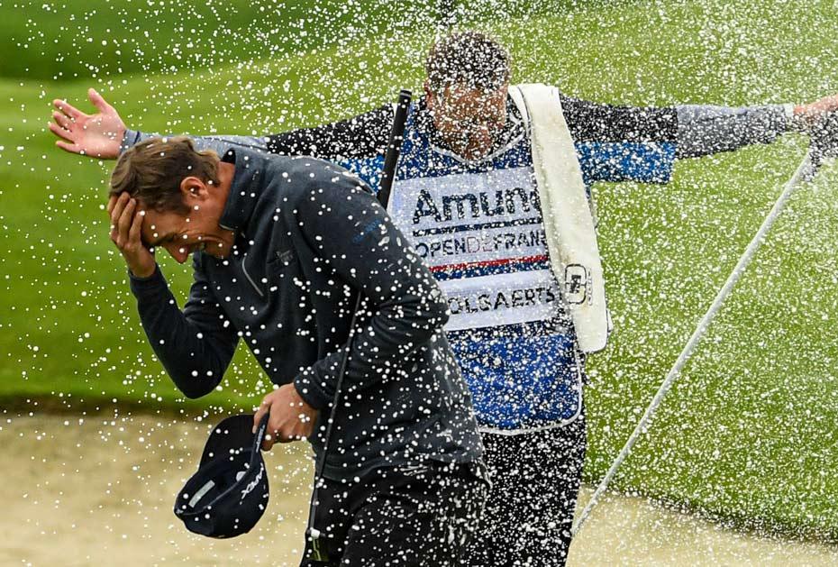 Triumph im Le Golf National: Nicolas Colsaerts