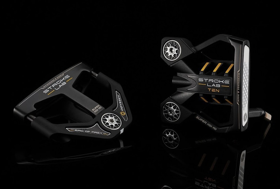 HIGH-MOI-PUTTER Odyssey Golf stellt Stroke Lab Black Putter Ten und Bird of Prey vor