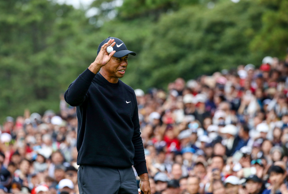 In Führung: Tiger Woods