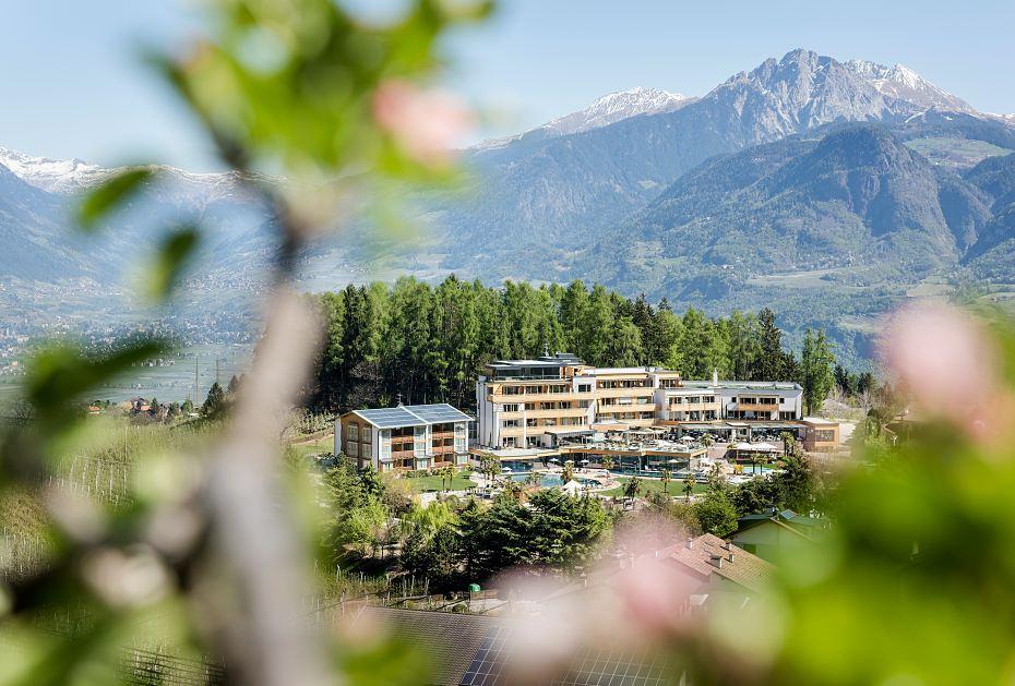 Top-Lage: das Alpiana Resort