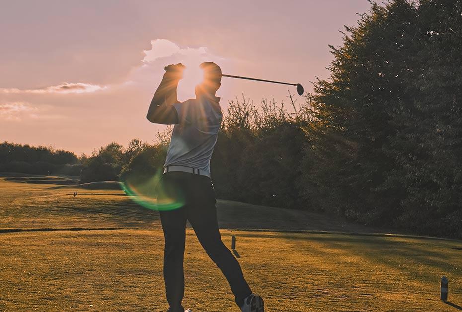 Fünf Gewohnheiten für 1A-Golf