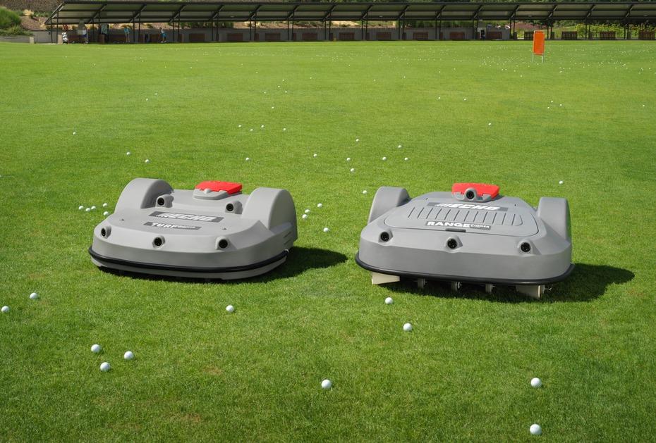 ECHO ROBOTICS GC Rheinstetten lässt Driving Range von Golfkontor mit Mäh- und Sammelroboter ausstatten