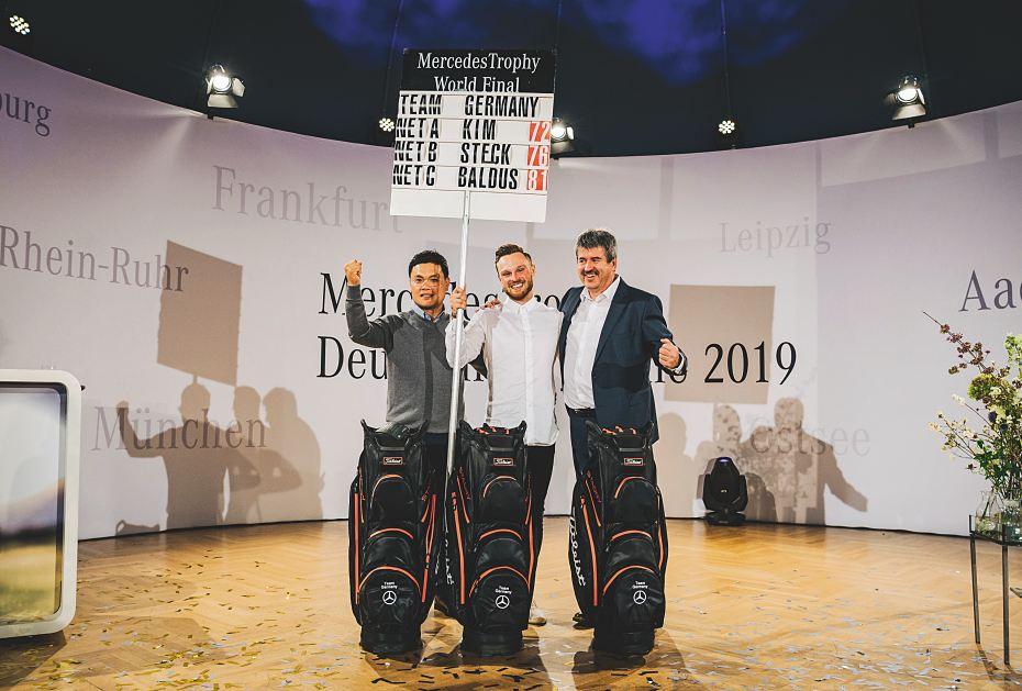 Team Germany steht fest: Eun Gil Kim, Sebastian Steck und Walter Baldus fahren zum Weltfinale