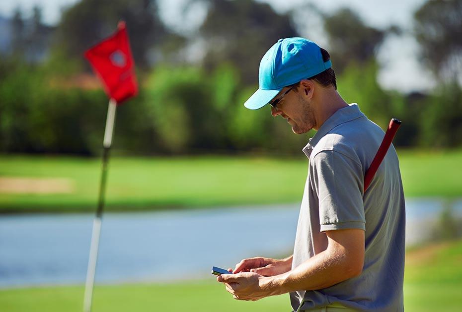 Einmal registriert steht den Golfern in Zukunft die Qualifizierte elektronische Scorekarte zur Verfügung.