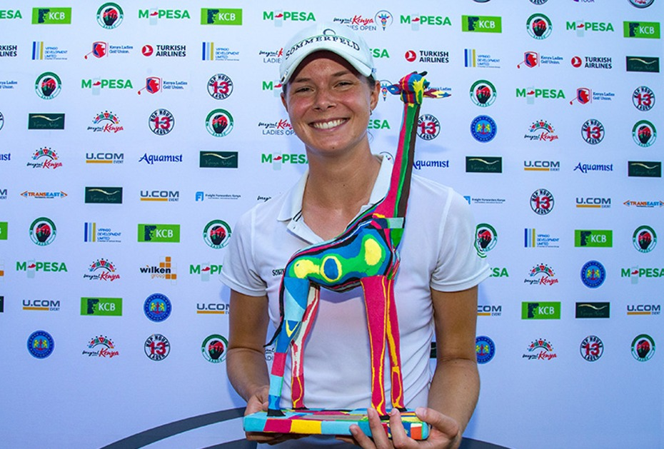 BREITES GRINSEN Esther Henseleit gewinnt Magical Kenya Open auf der Ladies European Tour