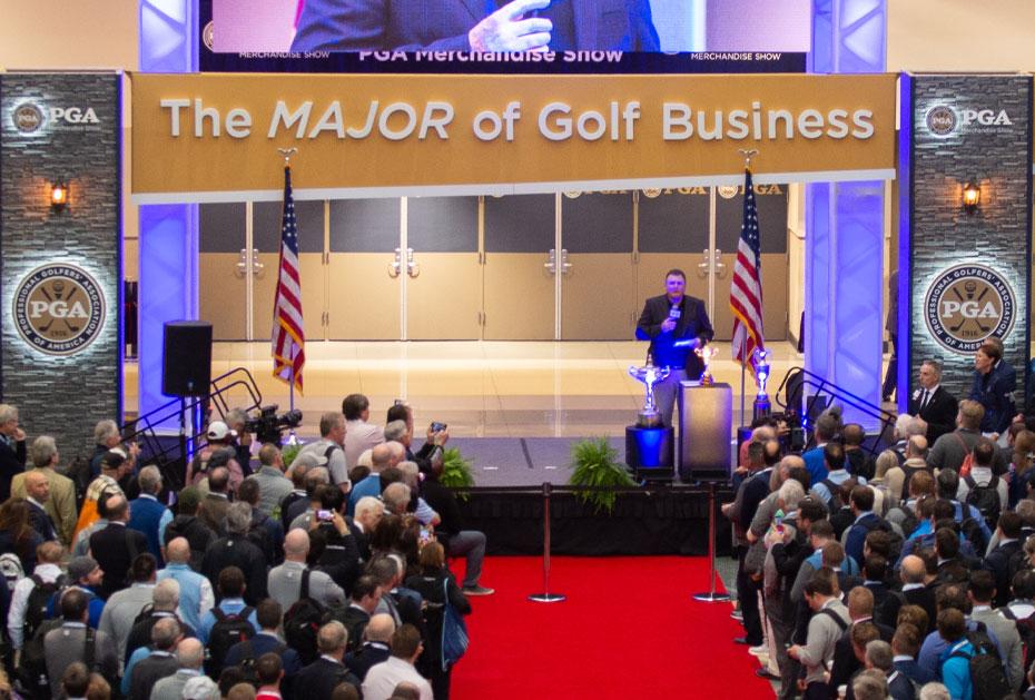 AUSGEZEICHNET Auf der PGA Merchandise Show werden die ING Industry Honors Awards vergeben