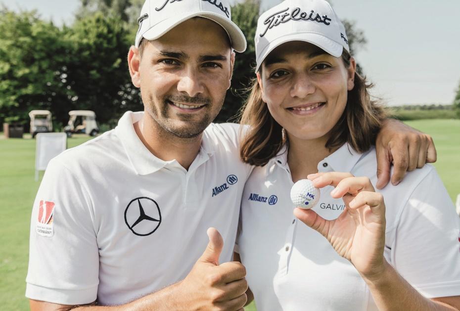 Die Mercedes-Benz Markenbotschafter Karolin und Moritz Lampert suchen das Duell