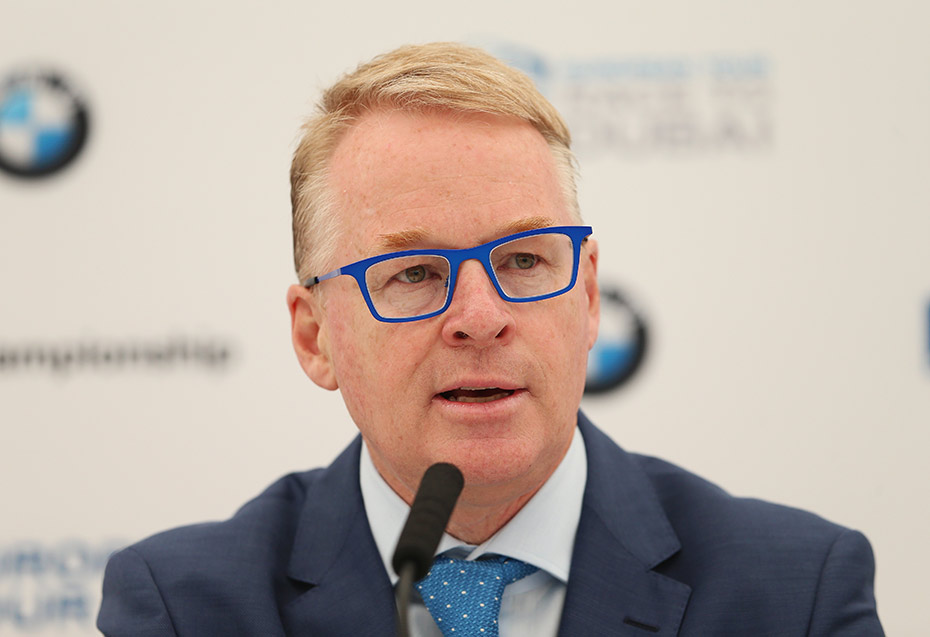 Chief Executive der European Tour: Keith Pelley