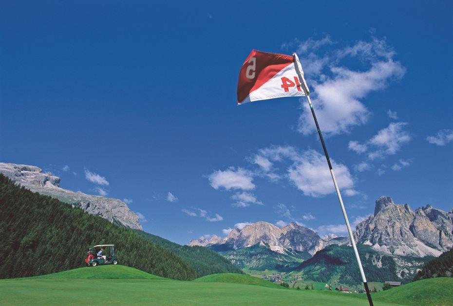 Golf in Südtirol: Alta Badia Golf Club