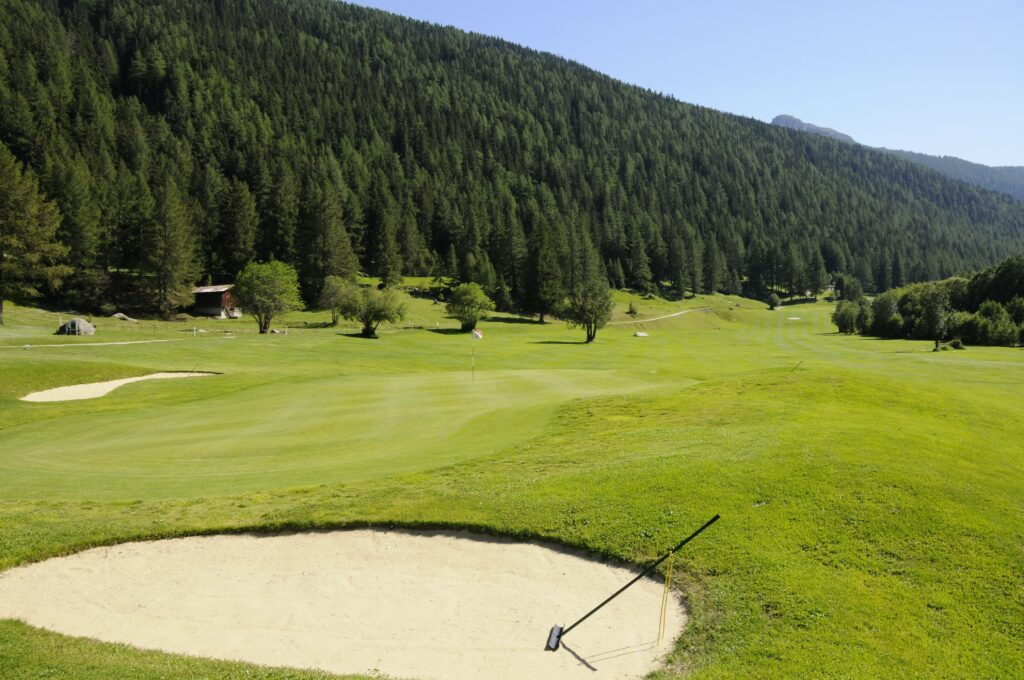 Golfplatz Source du Rhone
