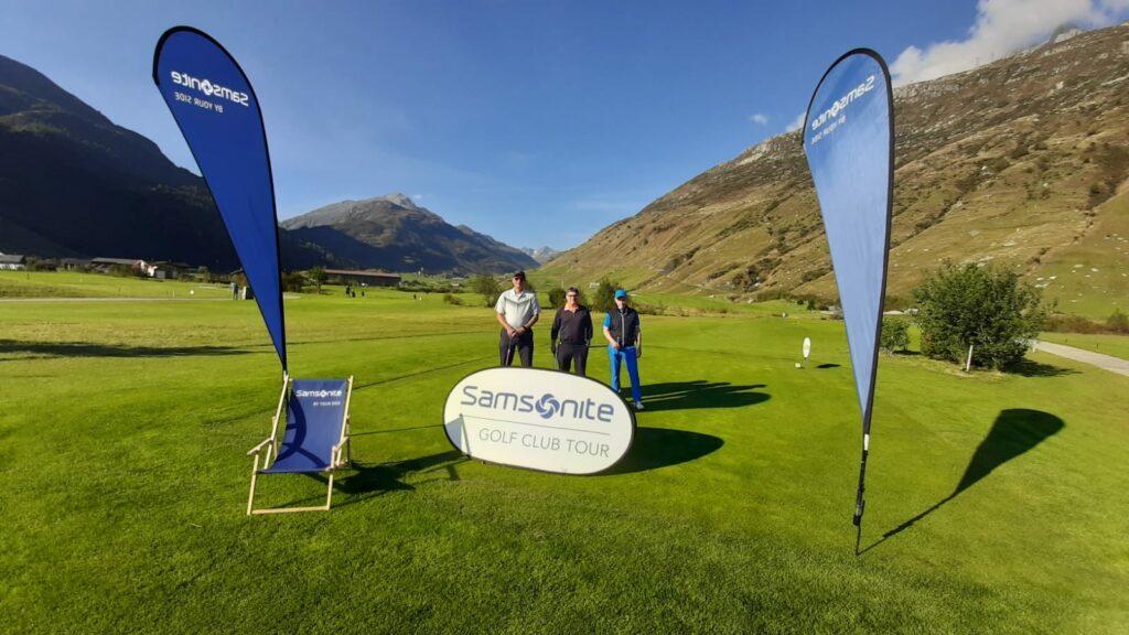 Impressionen vom Landesfinale Schweiz der SAMSONITE Golf Club Tour 2020