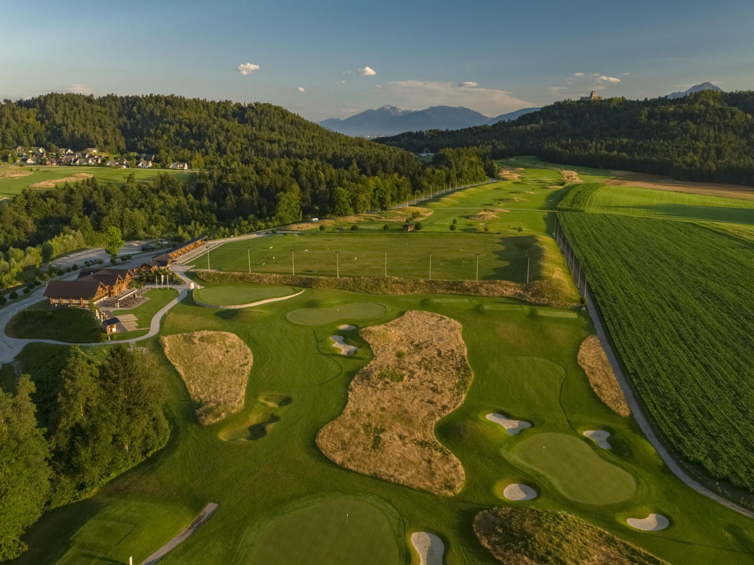 Ausgangspunkt der Aktivitäten: CUBO Golf Ljubljana