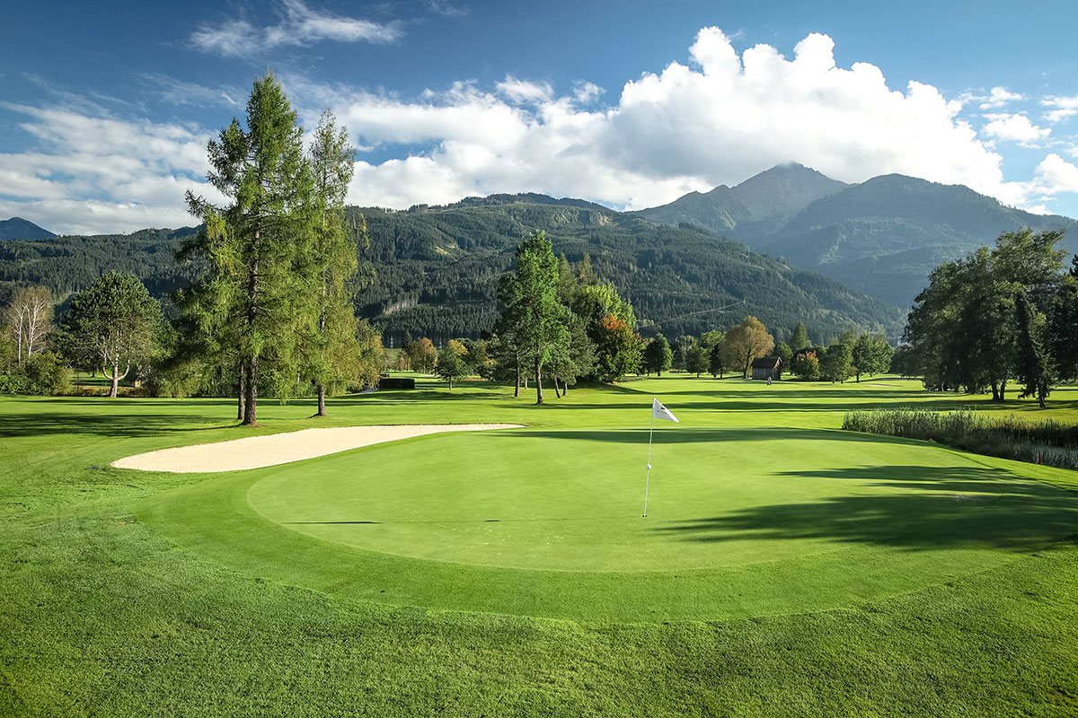 Der Kurs Schmittenhöhe ergänzt das 36-Loch-Golfvergnügen im Golfclub Zell am See-Kaprun
