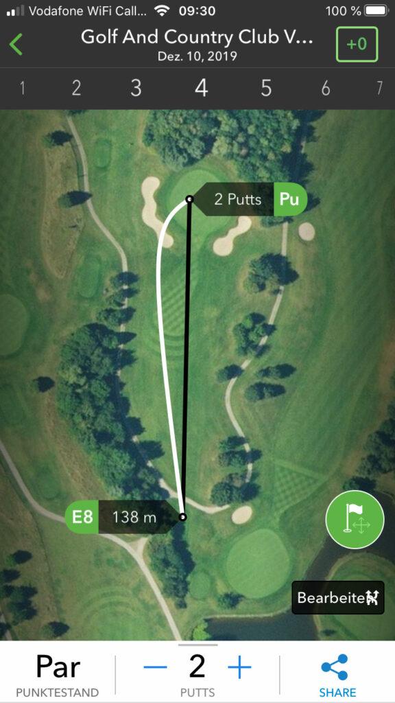 SINNVOLL Golf-Apps mit zahlreichen Analyse-Features – setzen aber den Handy-Einsatz voraus