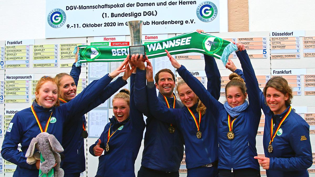 DGV-Mannschaftspokal-Siegerinnen 2020: GLC Berlin-Wannsee