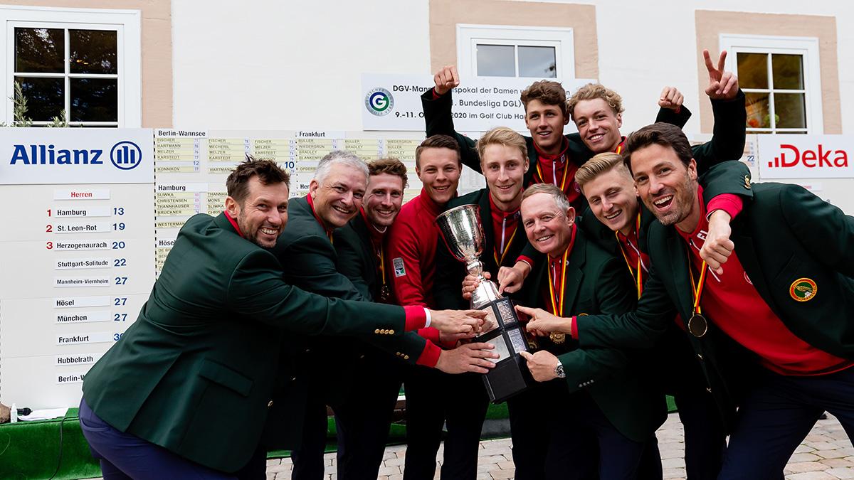 DGV-Mannschaftspokal-Sieger 2020: Hamburger GC