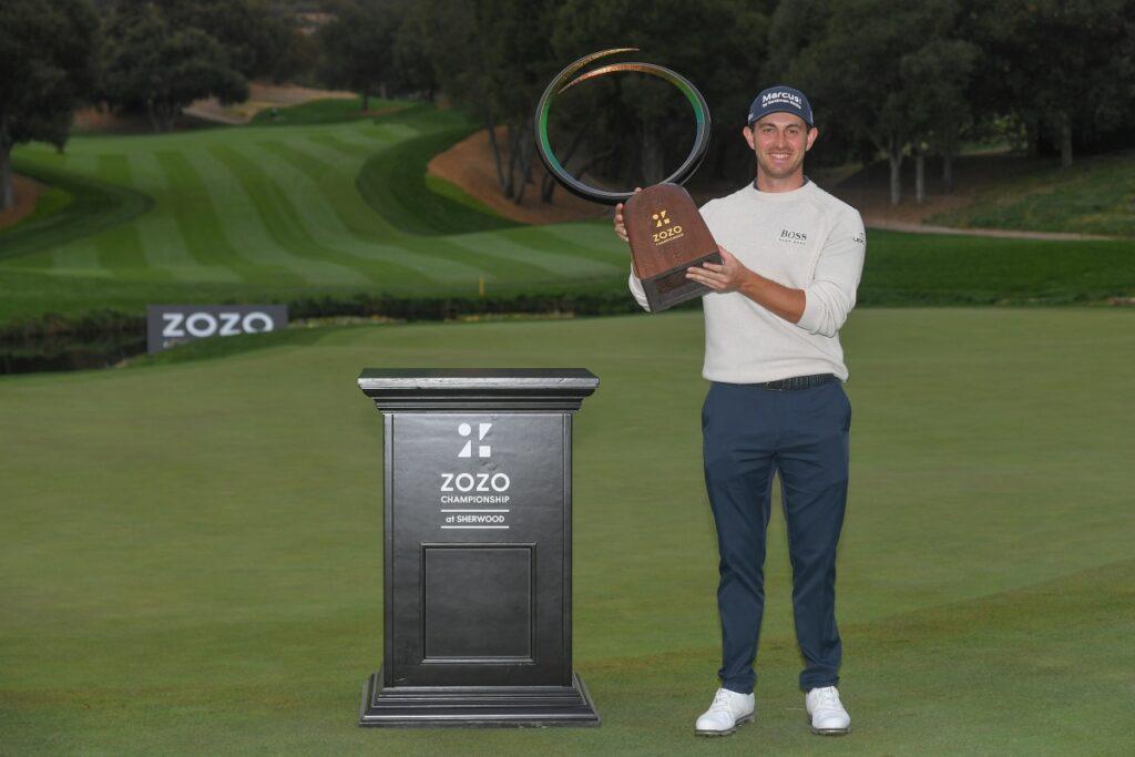 Sieger in Kalifornien: Patrick Cantlay