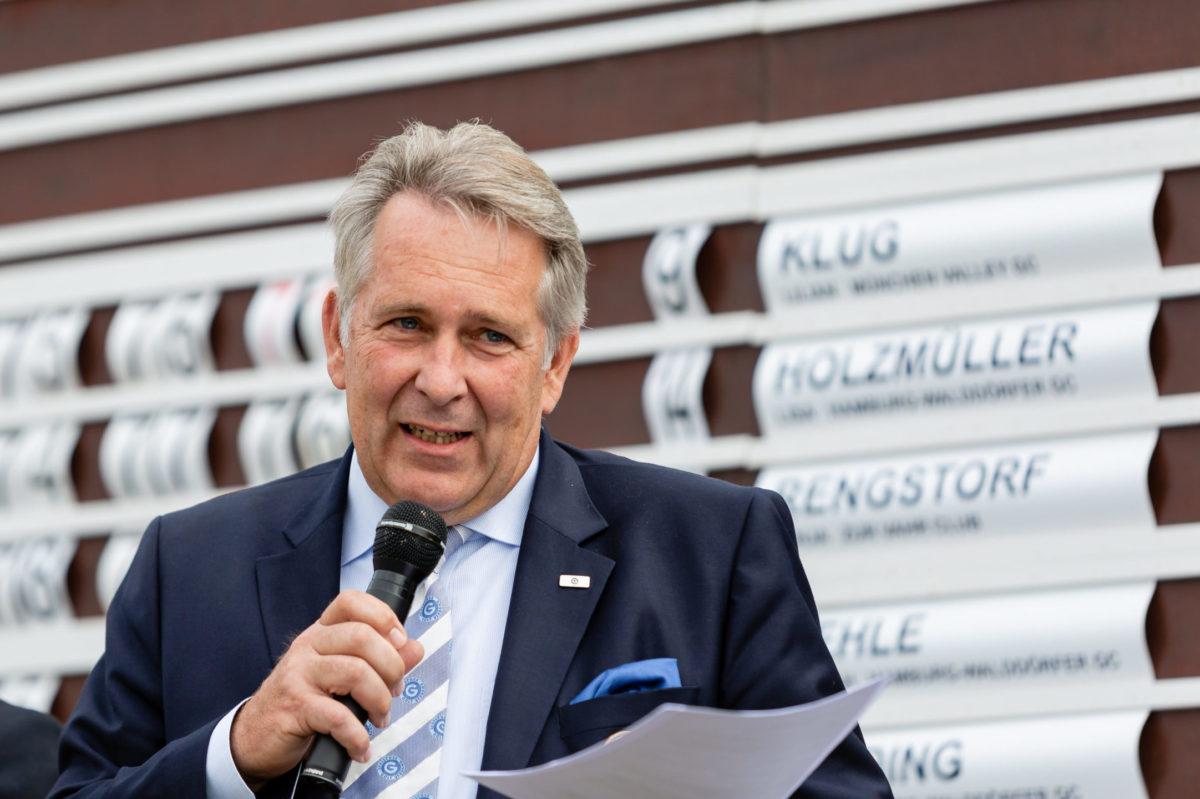 DGV-Präsident Claus M. Kobold