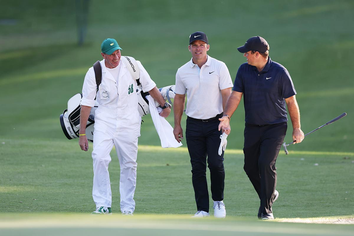 Paul Casey, Patrick Reed (r.)