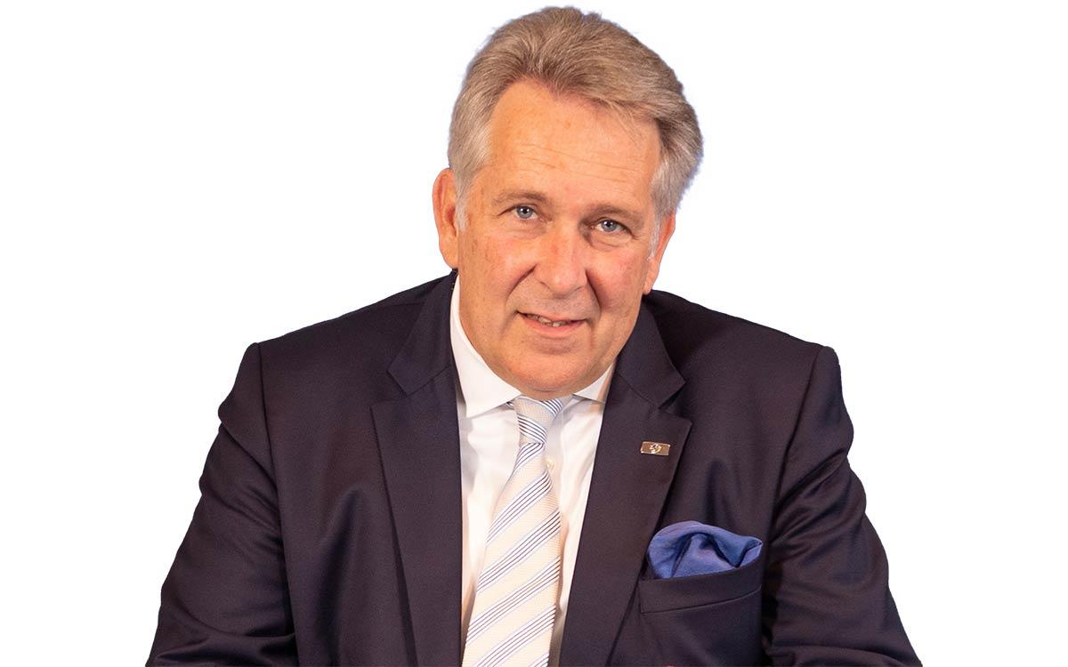 DGV-Präsident Claus M. Kobold (Foto: DGV/Christopher Tiess)