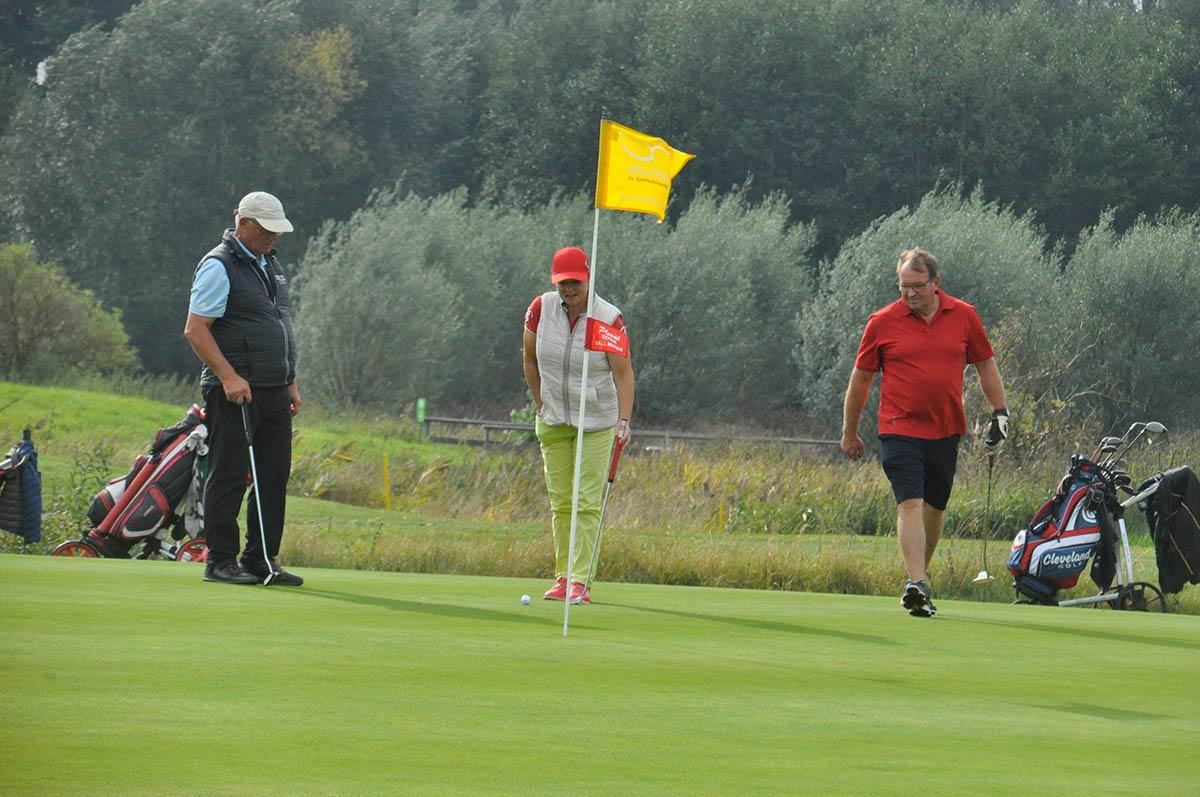 Impressionen vom Preis des Präsidenten im Golfpark Strelasund