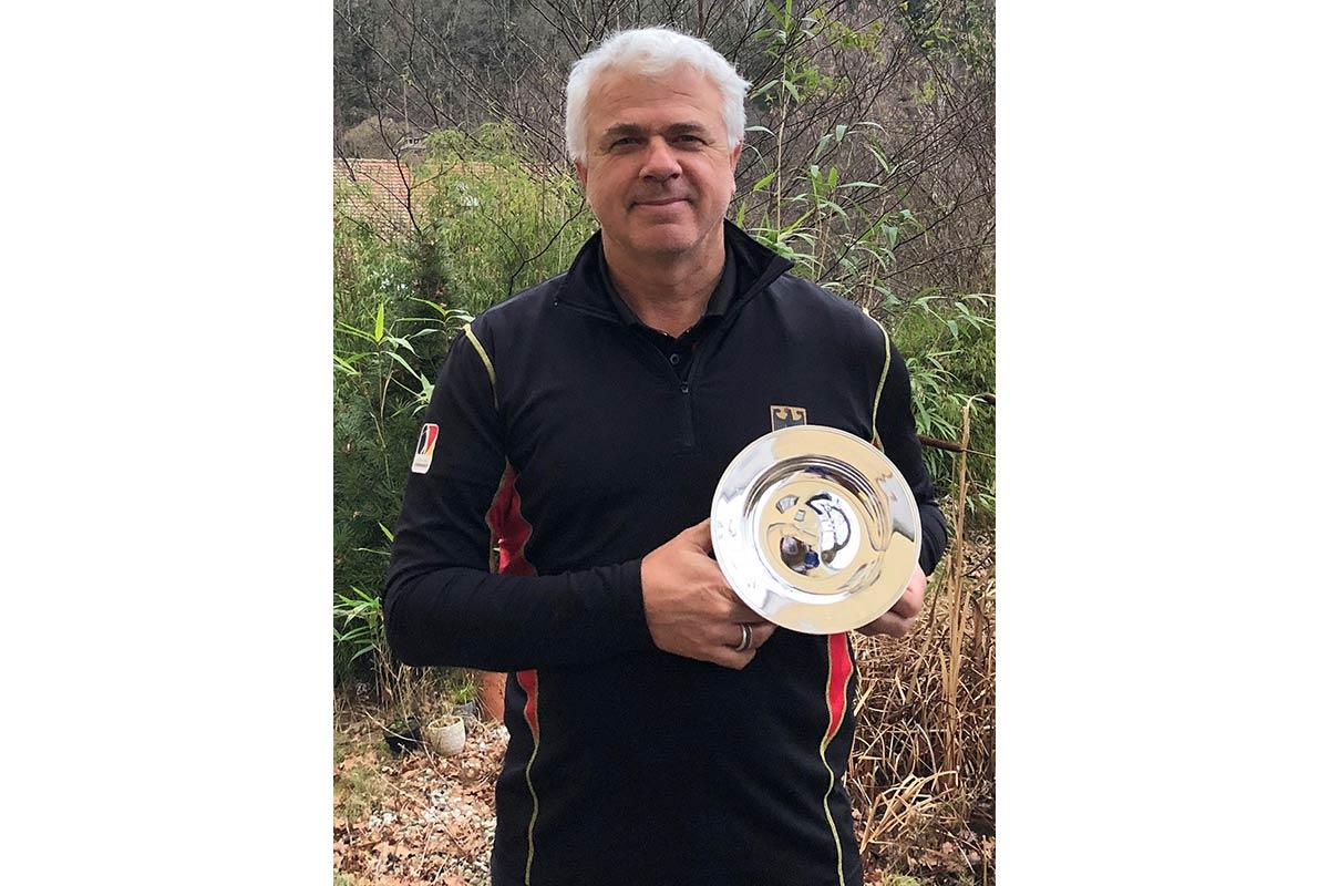 """Ulrich Eckhardt: Als erster Deutscher erhielt der 53-Jährige den """"John Jacobs Award for Teaching & Coaching"""""""