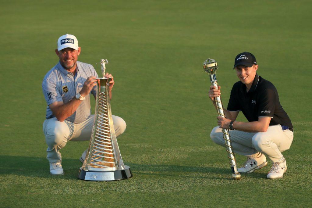 Lee Westwood und Matthew Fitzpatrick in Dubai