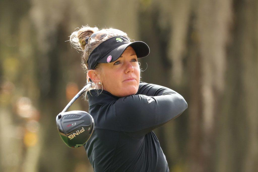 Amy Olson bei der U.S. Women's Open
