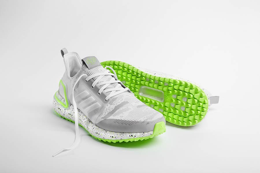 The Vice Golf Shoe by Adidas in der Signature-Farbe Neon Lime