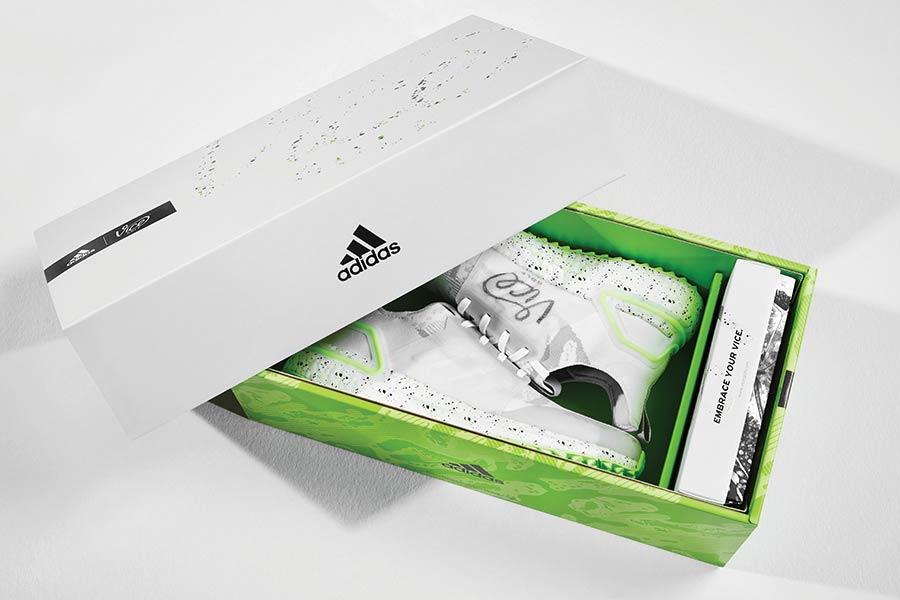The Vice Golf Shoe by Adidas - die Verpackung ist weit mehr als eine Schuhverpackung