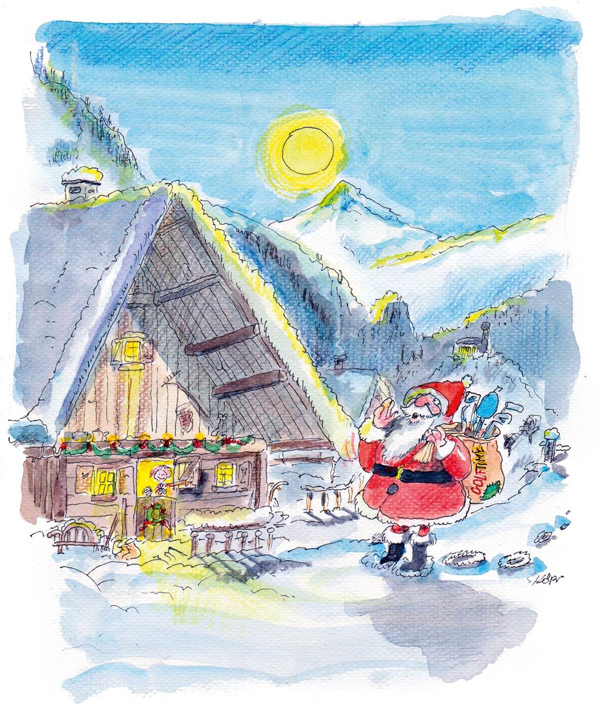 Das gesamte GOLF TIME Team wünscht Ihnen frohe Feiertage und einen guten Rutsch!