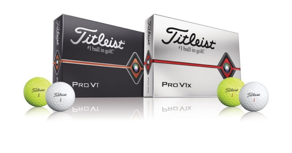 Titleist Pro V1 und Pro V1x