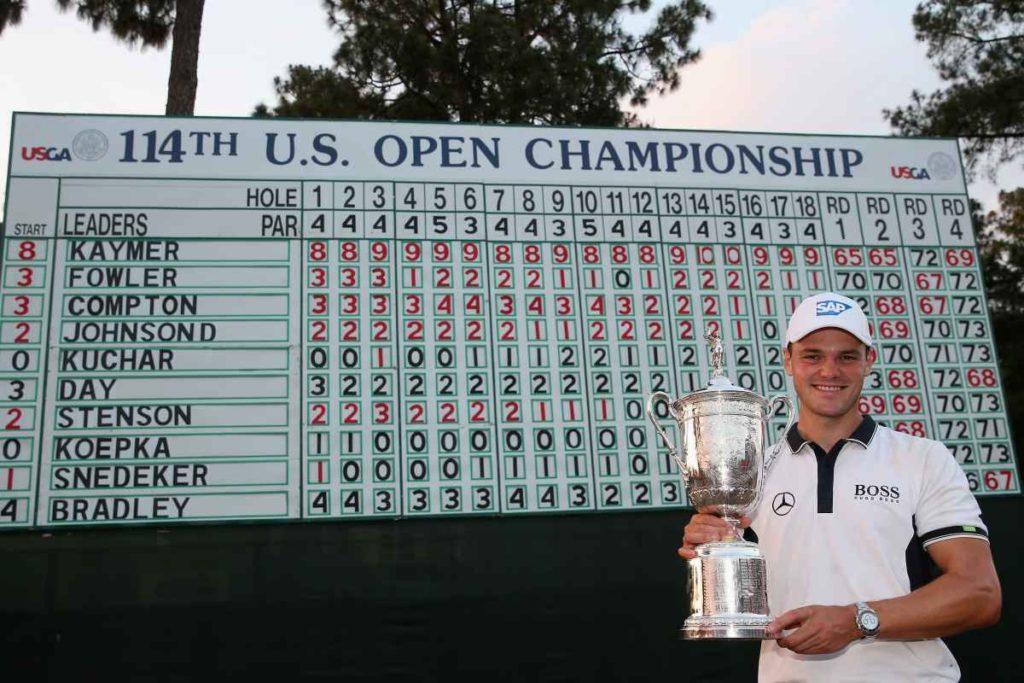 Kaymer gewinnt die U.S. Open in Pinehurst mit beeindruckendem Vorsprung.