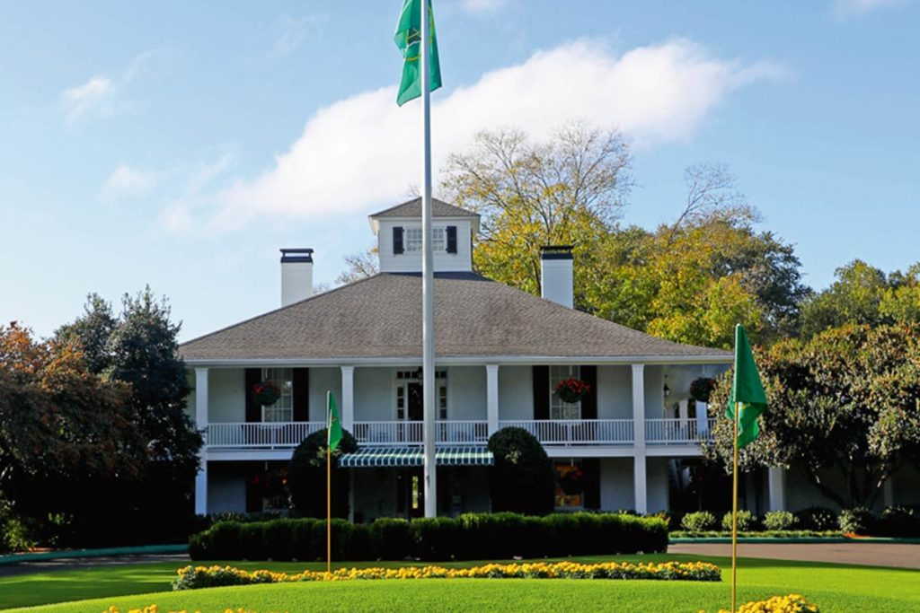 Bobby Jones' Lebenswerk: der Augusta National Golf Club an der Magnolia Lane