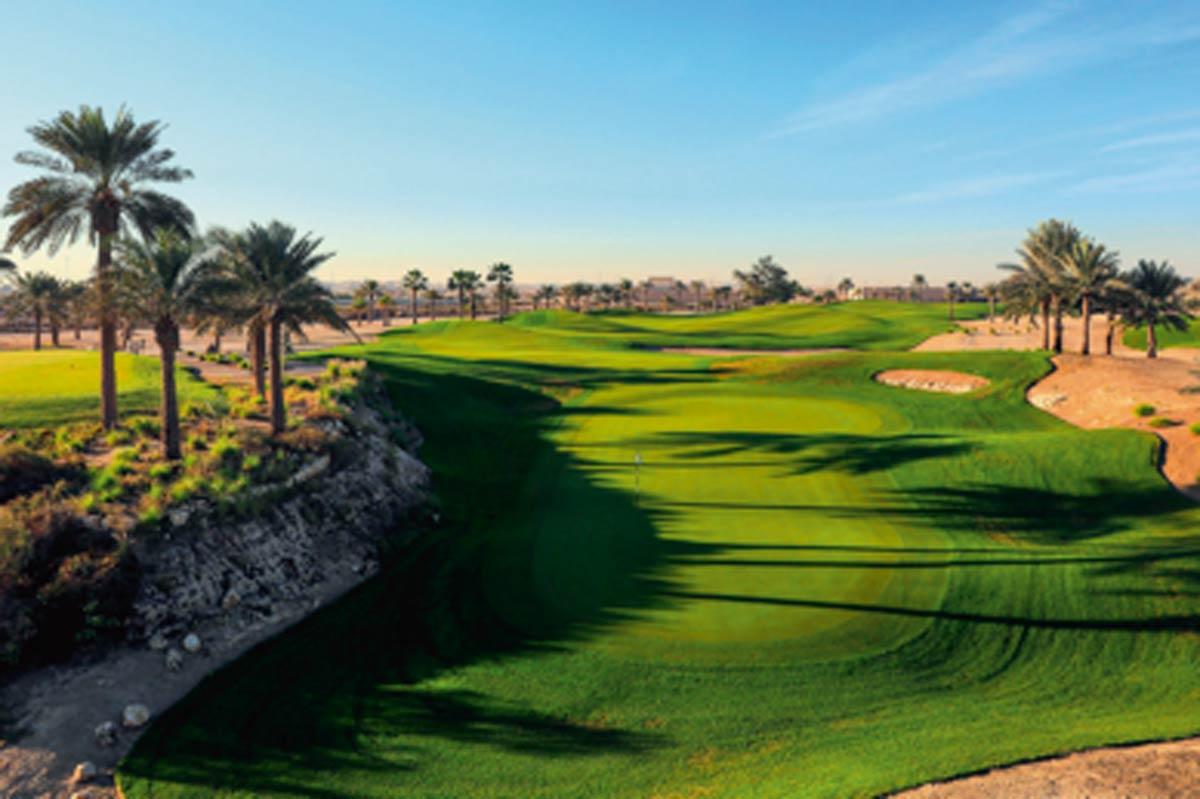 Colin Montgomerie designte den einzigen 18-Loch Championship Golfplatz in Bahrain