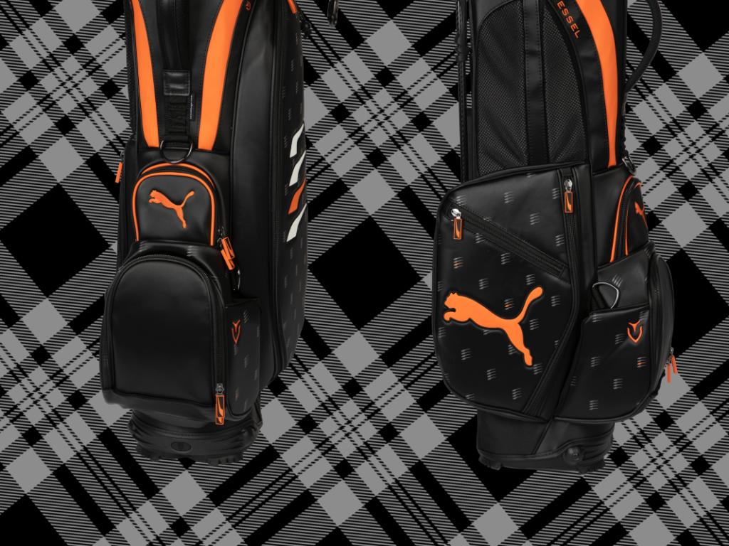 Hingucker: Das LE PUMA Golfbag zur open Championship