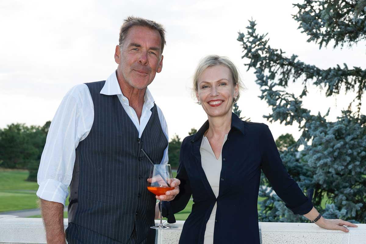 Fontana Open 2021: Sascha Hehn mit Silvia Richter