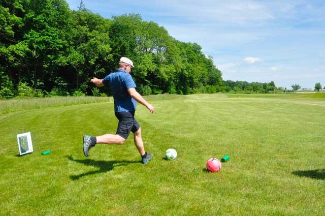 Golfpark Strelasund eröffnet neue Footgolf-Anlage