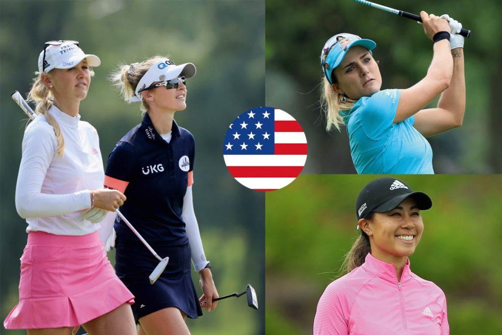 MÖGLICHE TEAMS. Nelly und Jessica Korda, Lexi Thompson und Danielle Kang für die USA.