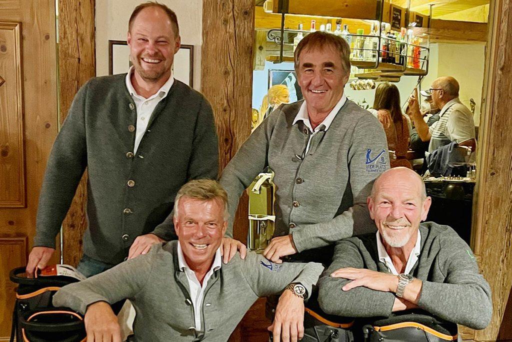 SIEGERFLIGHT. Pascal Knieling, Manfred Stock, Werner Feneberg und Werner Heider