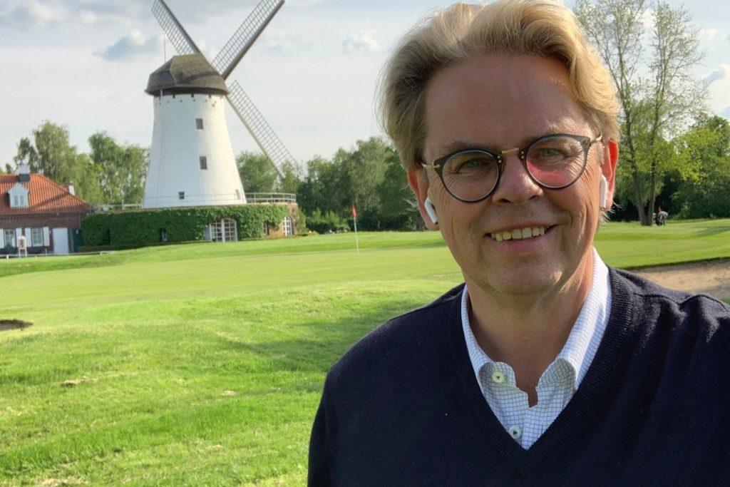 GEHT NEUE WEGE Rheingolf on the Green: Veranstalter Michael Jacoby