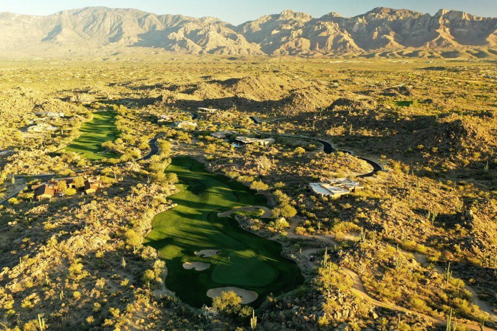 Eindrucksvolle Kulisse: der Stone Canyon Golf Club in Arizona