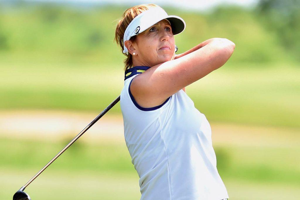 GENESEN Birgit Beutel besiegte den Krebs, fand Kraft durch den Golfsport.