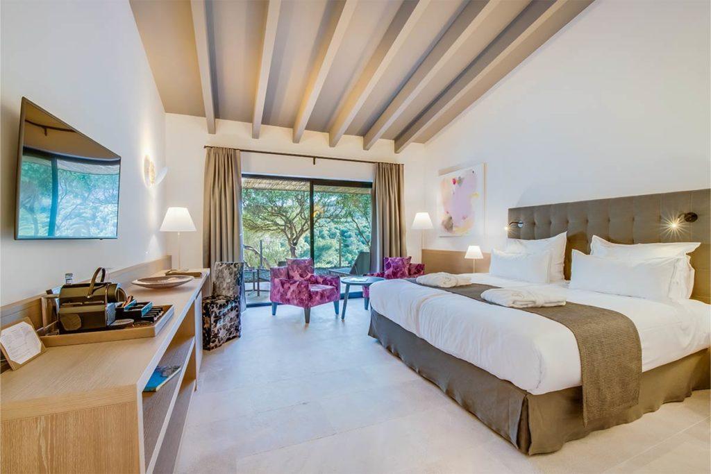 Luxuriöses Ambiente: 75 Zimmer und Suiten beinhaltet das 2018 neu eröffnete Hotel
