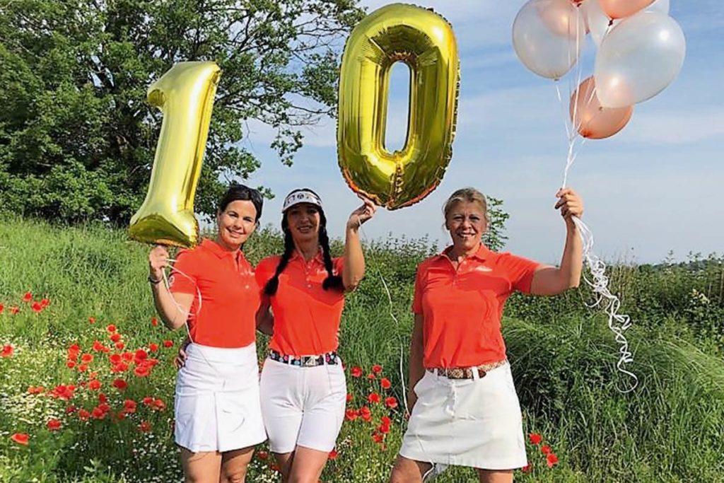 HAPPY BIRTHDAY. Die Peter Hahn Ladies Golf Tour feiert 2021 ihr zehnjähriges Bestehen